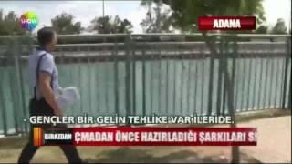 Adana'da Küçük Kız Kanaldan Son Anda Kurtarıldı