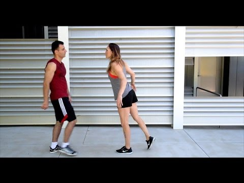 Bold Guy Vs Parkour Girl video
