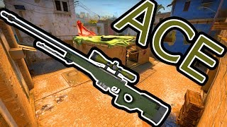 Counter-Strike: Global Offensive - crwPlays AWP ACE Clutch
