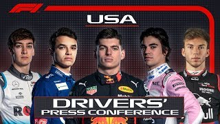 2019 United States Grand Prix: Pre-Race Press Conference