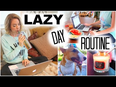 Lazy Fall Day Routine ♡