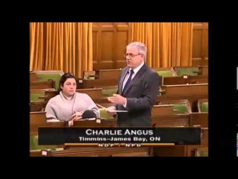 MP Charlie Angus slams Cons for watering down Conflict of Interest Act