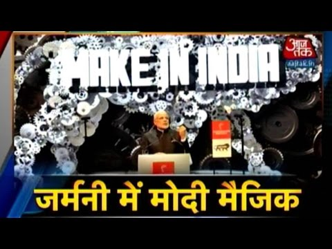 Modi's 'Make in India' Lion Unleashed In Germany
