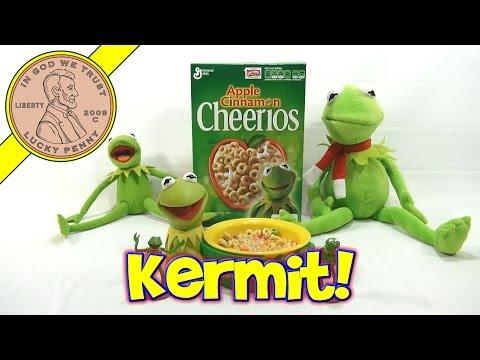 Disney Muppets Most Wanted - Kermit Apple Cinnamon Cheerios