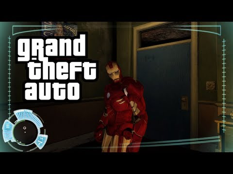 Ironman in GTA 4! GTA PC Mods with Ironman! (GTA Funny Moments with Mods)