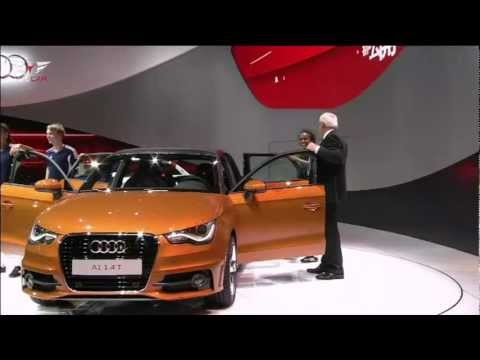 ► 2012 Audi A1 Sportback at 2011 Tokyo Motor Show
