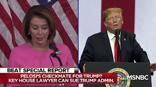 Revealed: House Democrats Plan To Take Trump To Court In 2019 | The Beat With Ari Melber | MSNBC