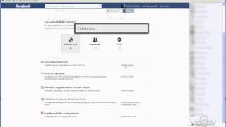 facebook Mesaj ve gizlilik ayarlari