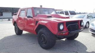 1988 Lamborghini LM002 (LMA) Start Up, Exhaust, and In Depth Tour