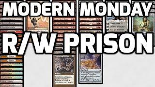 Modern Monday: R/W Prison (Deck Tech & Matches)