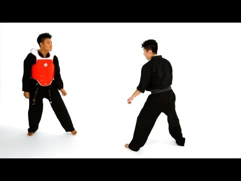 Taekwondo Sparring: Sidestep Technique 2 | Taekwondo Training for Beginners Image 1