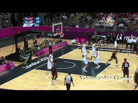 USA Top 10 Dunks 2012 Olympics