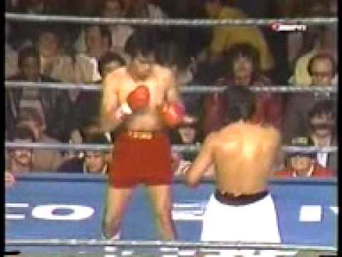 Roberto Duran vs Pipino Cuevas Part 1 Video