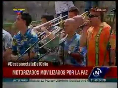 Maduro recibe a motorizados