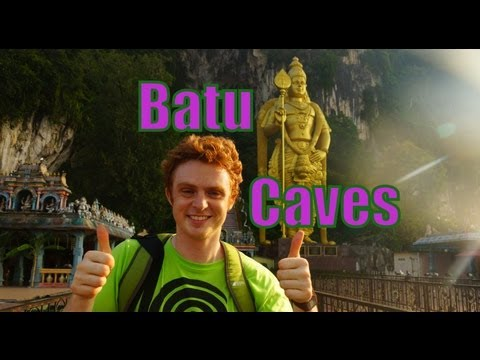 Visiting the Batu Caves and feasting on Indian Cuisine just outside of Kuala Lumpur, Malaysia