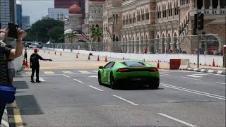 KL Supercar Drag Race (Day 2) - Huracan, SLS, Murcielago | Revving, Acceleration, DRAG RACING