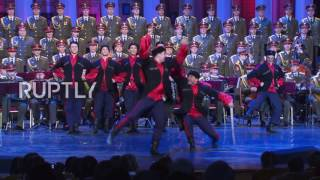Russia: Alexandrov Ensemble performs for the first time after Tu-154 crash