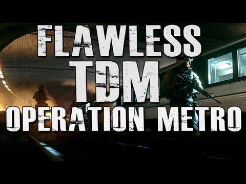 BF3: Flawless TDM on Operation Metro (Gameplay/Commentary)