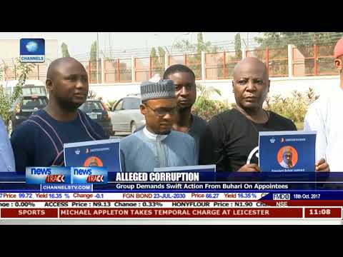 'Concerned Nigeria Group' Demands Swift Action From Buhari On Corruption
