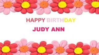 Judy Ann   Birthday Postcards & Postales7 - Happy Birthday