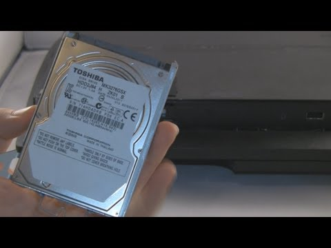 How Upgrade A PS3 Slim Hard Disk Drive