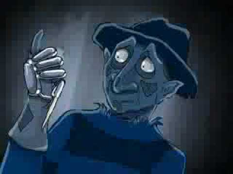 FREDDY KRUGER CORPSE BRIDE CARTOON