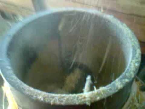Pellettatrice fai da te a basso costo / home made pellet mill