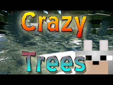 Minecraft Mods - Crazy Mod 3D! Tree Models 1.4.5 Review and Tutorial ( Realistic Trees! )