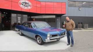 1966 Pontiac GTO Classic Muscle Car for Sale in MI Vanguard Motor Sales