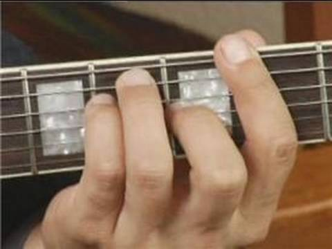 F#m7 Chord Guitar Finger Position Play f Chord on The Guitar