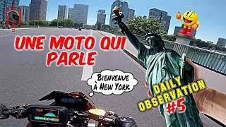Une Moto Qui Parle - Daily Observation #5