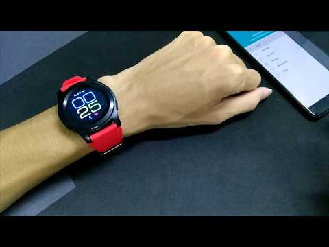 Trên tay smartwatch NO.1 G8 - Nghe gọi độc lập, có massage, GPS
