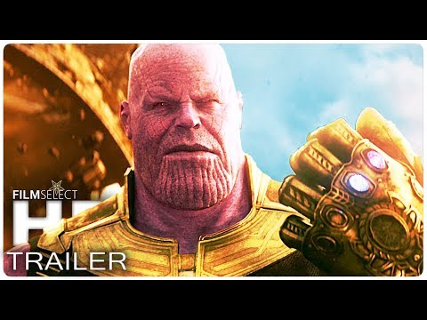 AVENGERS INFINITY WAR Trailer (Marvel 2018)