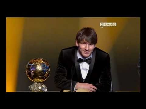 FIFA Ballon D'OR - Best Player of 2010 - Lionel Messi