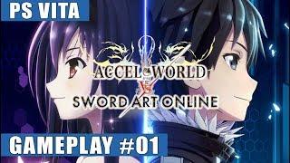 Accel World VS Sword Art Online English PS Vita Gameplay #1 (The Invader)