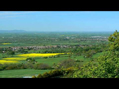 Crickley Hill country park Cheltenham Gloucestershire