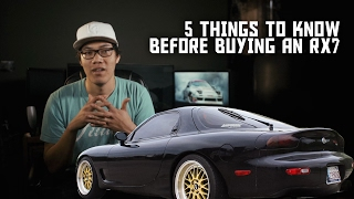 5 Things To Know Before Buying A Mazda RX7