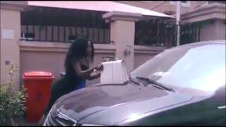 See How Muhammed Cleaned His Oga Car (Romeo Wj Comedy)