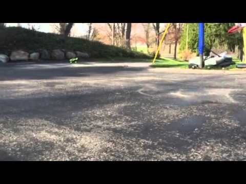 Tyco 9.6v RC Turbo Hammer Test Demo