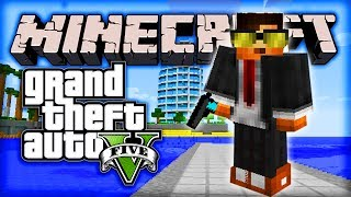 "Minecraft GTA 5 Mod - Episode #3 w/ Ali-A! - ""BEST GUN EVER!"""
