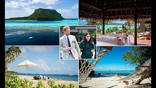 Harry and Meghan in Fiji - Meghan and Harry spend the night alone on a $5000-a-night private island