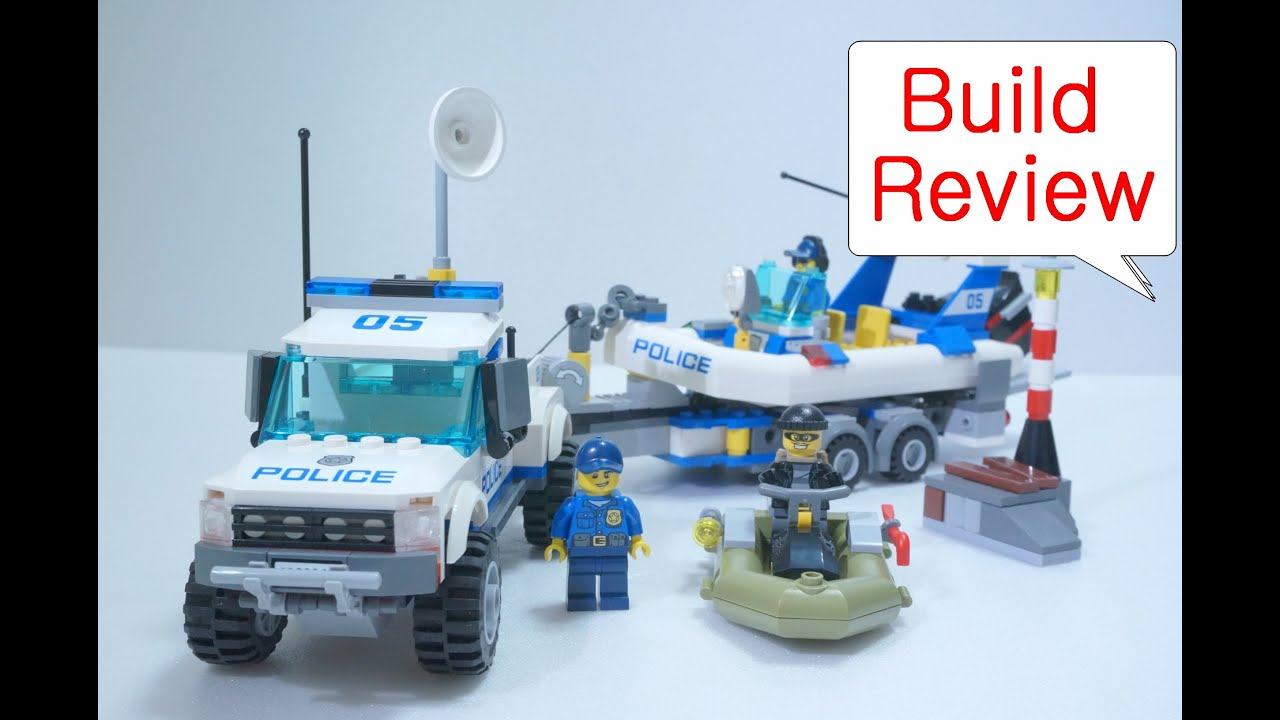 Lego Police Patrol Car 60045 Build Review 레고 장난감 Youtube