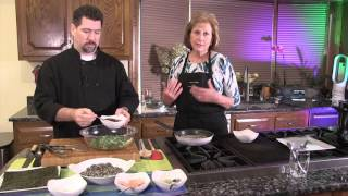 Chef Lynn Cooking with Chef David Blakesly of 5th Tavern