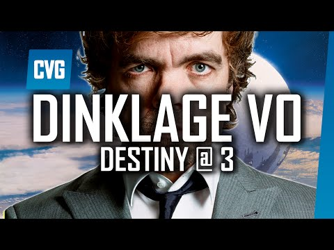 Destiny: What's Happened to Peter Dinklage's Voice? | Destiny @ 3