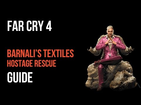 Far Cry 4 Walkthrough Barnali's Textiles Hostage Rescue Gameplay Let's Play