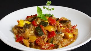 Ratatouille Recipe with Michael's Home Cooking