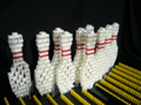 Bowling For Dominos (4800 dominoes)