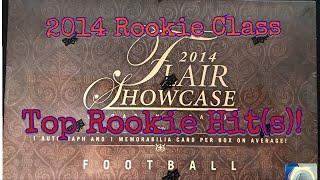 2014 Flair Showcase Football. Bonus Hit! Great Box!