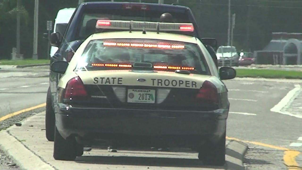 New Whelen Led Lights On Florida Highway Patrol Car In