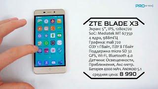 ZTE Blade X3 - вокруг света на одном заряде?